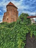 Castle in Poland Royalty Free Stock Images