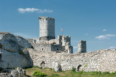 The ruins of the castle. Royalty Free Stock Photos