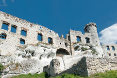The ruins of the castle. Stock Photos