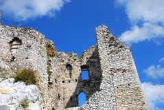 Ruins of the castle in Mirow. (Eagles' Nests Trail , Poland Royalty Free Stock Images