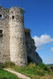 Ruins of the castle in Mirow. (Eagles' Nests Trail , Poland Stock Images