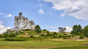 Ruins of the castle in Mirow & x28;Poland& x29; Stock Photography