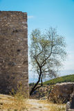 Ruins of a castle at  Moclin, Granada, Andalusia, Spain Stock Image