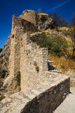 Ruins of a castle at  Moclin, Granada, Andalusia, Spain Stock Images