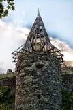 Ruins Castle  Nevitsky Royalty Free Stock Photos