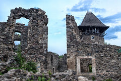 Ruins Castle  Nevitsky Transcarpathia Ukraine Royalty Free Stock Photo