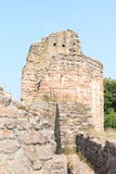 Ruins of castle Pecka Royalty Free Stock Photo
