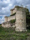 Ruins of a castle in Sesena, Castilla la Mancha, Spain Stock Photos