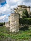 Ruins of a castle in Sesena, Castilla la Mancha, Spain Stock Photography