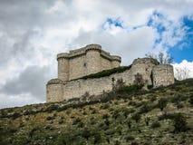Ruins of a castle in Sesena, Castilla la Mancha, Spain Royalty Free Stock Photography