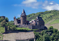 Ruins of Castle Stahleck Royalty Free Stock Images