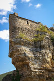Ruins of a castle,  Tarn gorge, France Royalty Free Stock Photography