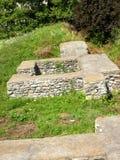 Ruins - Castra of Jidava Stock Photo