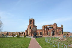 Ruins of the cathedral of St. John the Baptist Stock Photo