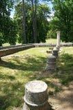 Ruins in Cetinje Royalty Free Stock Images