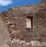 Ruins at Chaco Canyon Royalty Free Stock Photo