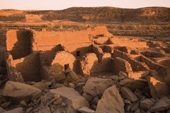 Ruins in Chaco Culture Stock Photography