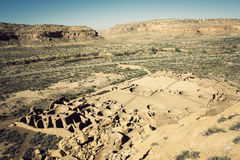 Ruins in Chaco Culture Stock Photos