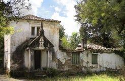 Ruins of a chapel Stock Photos