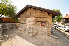 The ruins of the chapel of the Old Nessebar Royalty Free Stock Images