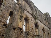 The ruins of Chepstow Castle, Wales Stock Photos