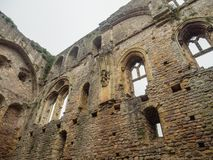 The ruins of Chepstow Castle, Wales Royalty Free Stock Photography