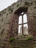 The ruins of Chepstow Castle, Wales Stock Photo