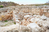 The ruins of Chersonesos Stock Images