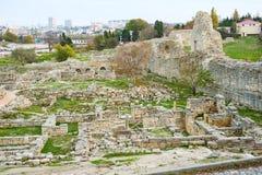 The ruins of Chersonesos Stock Photos