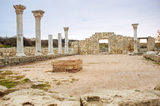 The ruins of Chersonesos Royalty Free Stock Photography