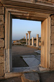 The ruins of Chersonesus in Crimea Stock Photos