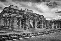 Ruins of Chichen Itza Royalty Free Stock Photography
