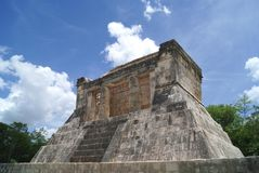 Ruins of Chichen Itza in Mexico Stock Image