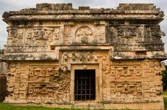 Ruins of Chichen Itza  pre-Columbian  Mayan  city. Mexico Stock Image