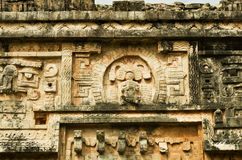 Ruins of Chichen Itza  pre-Columbian  Mayan  city. Mexico Royalty Free Stock Photography