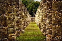 Ruins of Chichen Itza  pre-Columbian  Mayan  city. Mexico Royalty Free Stock Photo