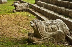 Ruins of Chichen Itza  pre-Columbian  Mayan  city. Mexico Stock Photos