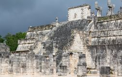 Chichen-Itza. Ruins of the Chichen-Itza, Yucatan, Mexico Stock Photos