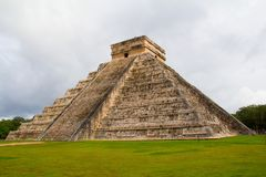 Chichen-Itza. Ruins of the Chichen-Itza, Yucatan, Mexico Royalty Free Stock Image
