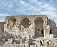 Ruins of  church Royalty Free Stock Images