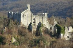 Ruins of the church Royalty Free Stock Images