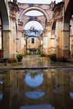 Ruins of a church in Antigua Stock Photo