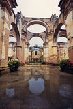 Ruins of a church in Antigua Stock Photos