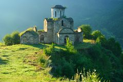 Ruins of Church Royalty Free Stock Photo