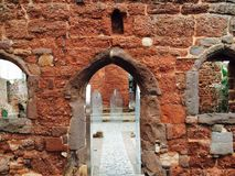 Ruins of a church, Exeter, England Royalty Free Stock Photo