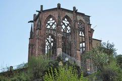 Ruins of a church Stock Photos