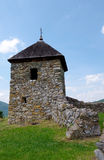 The ruins of the church - Hussite Church Stock Photos