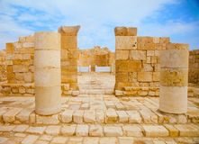 Ruins of church in Middle East Stock Images