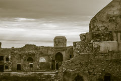 Ruins of Church and Mosque Royalty Free Stock Images