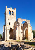 Ruins of the Church of Santa Eulalia in Palenzuela Stock Images